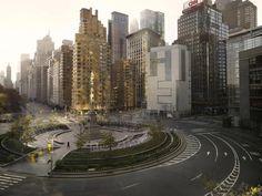 """Le duo d'artistes Lucie et Simon proposent, au travers de la série photo """"Silent World"""" une représentation des villes de Paris et New-York comme nous ne les verrons jamais : vides. Des photos troublantes et apaisantes qui donnent une nouvelle vision de ces espaces urbains."""