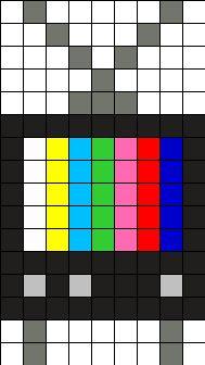 Old_Tv by Ninie on Kandi Patterns