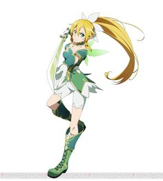 Character design by Shingo Adachi for the Real World/ Fairy Dance Arc of the Sword Art Online anime.
