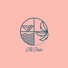 "Rhea Jain's Instagram profile post: ""The Palm - Brand Identity The Palm is a beachside hotel and spa. . . . #branddesigner #branddevelopment #branding #brandingdesign…"" Hand Drawn Logo, Cool Logo, Logo Design Inspiration, Brand Identity, Branding Design, How To Draw Hands, Monogram, Logos, Logo"