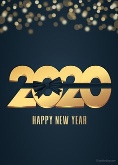 Awesome collection of happy new year images Save these images and share with your loved ones and social media status/post. Happy New Year Images, Happy New Year 2020, Birthday Cards For Girlfriend, New Year Card, E Cards, Happy Holidays, First Love, Social Media, Healthy Juices