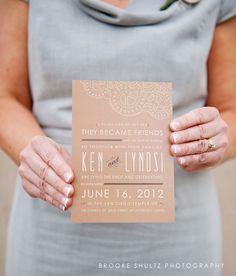 Burlap & Lace Wedding Invitation Suite Printable by BarneyDesign, $25.00
