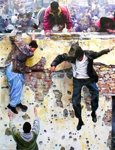 wall jumpers malcolm morley - Google Search