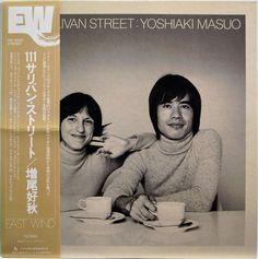 MASUO YOSHIAKI / 111 SULLIVAN STREET / JAZZ / EAST WIND JAPAN OBI