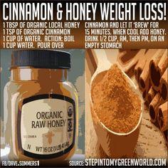 Cinnamon & Honey Weight Loss Tip!