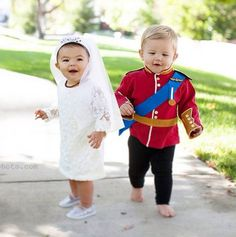 dress up willow princess kate and prince william - Halloween Ideas For Siblings