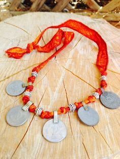 Kuchi Coin Necklace Anklet Bracelet using Recycled by gypsykicks