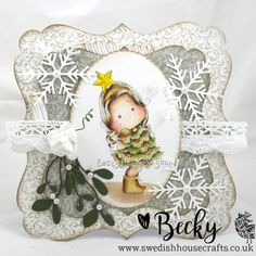 Cards By Becky: Tilda WIth Star