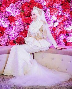 Lovely malay bride