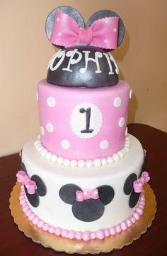 Mini mouse cake !