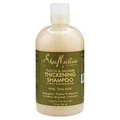 SheaMoisture Yucca & Baobab Thickening Shampoo - 13 fl oz