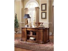Shop for Hooker Furniture Desk and other Home Office Desks at Quality Furniture in Murfreesboro, TN. An extravagant desk that is both functional and fashionable. Its decorative design complements its functionality in perfect harmony. Hooker Furniture, Furniture Design, Traditional Home Furniture, Home Office Desks, Quality Furniture, Entryway Tables, Home Decor, Merrillville Indiana, Pedestal Desk