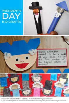 This craft is geared more towards President's Day, but the finger puppets with actual coins were far too cute. I had to share them. :) Jodi from The Clutter-Free Classroom