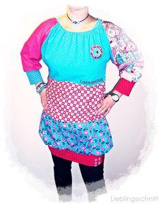kunterbunte Tunika  colorful tunik skirt