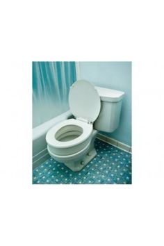 ESSENTIAL MEDICAL #B5080 TOILET SEAT RISER FOR STANDARD SIZE TOILET BOWLS