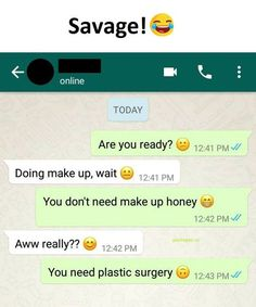 Hilarious Text About Plastic Surgery vs. Make Up
