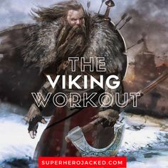 The Viking Workout Routine and Diet: Train like a Norseman Warrior - Perfect İdeas For Doing Exercise Hero Workouts, Gym Workout Tips, Workout Routines, Workout Splits, Training Workouts, Workout Exercises, Body Workouts, Calisthenics Workout Routine, Traps Workout
