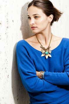 Glamour For All: The Lulu Frost x Glamour Necklace (a.k.a. The Ultimate Compliment Magnet): Dressed