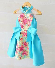 ---Aimee dress--- idr 848.000 0-5y #kidsfashion #cny2017 #cny2017collections #honeybeekids #honeybee_kids