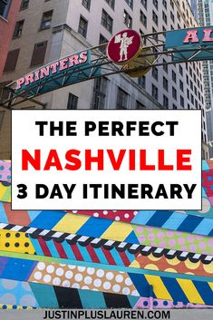 Weekend In Nashville, Nashville Vacation, Tennessee Vacation, Nashville Tennessee, Visit Nashville, Vacation Days, East Tennessee, Usa Travel Guide, Travel Usa