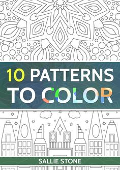 Here is a symmetrical patterns coloring book for adults to print for free .  Symmetrical  patterns have corresponding parts that are simil...