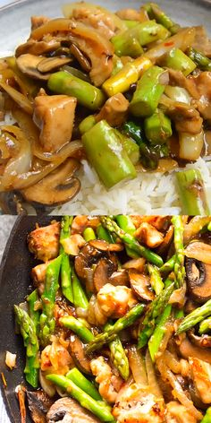 healthy dinner recipes videos This Ginger Chicken Asparagus Stir Fry is a quick and healthy dinner using fresh spring produce! This ginger chicken stir fry recipe will be a hit with your family. Make this easy stir fry for dinner tonight! Asparagus Stir Fry, Chicken Asparagus, Asparagus Recipe, Chicken And Vegetables, Best Fries Recipe, Recipe For Stir Fry, Healthy Chicken Recipes, Healthy Dinner Recipes, Healthy Family Dinners