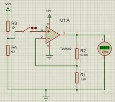 TLV9001 Op-Amp Application Circuit Diagram Circuit Diagram, Circuits, Amp