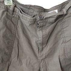 Cargo shorts Khaki cargo shorts. Non smoking home St. John's Bay Shorts Cargos