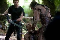 Camelot - Episode Still Peter Mooney, Sinead Cusack, Tamsin Egerton, Philip Winchester, Claire Forlani, Joseph Fiennes, Jamie Campbell Bower, Eva Green, Tv Series