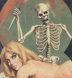 Stab the bitch. Arte Horror, Horror Art, Dark Beauty, Illustrations, Illustration Art, Pop Art Vintage, Scary Art, Creepy, Horror Comics