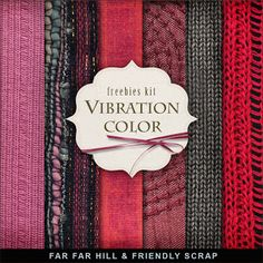 Freebies Background Kit - Vibration Color