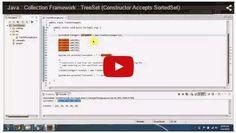 JAVA EE: Java : Collection Framework : TreeSet (Constructor Accepts SortedSet)
