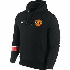 Manchester United Black Core Hoody 2011-12 by Nike. $55.28. Front pouch pocket , Machine washable , 100% Cotton , Officially licensed. Rib knit cuffs and waist. Embroidered team crest. Core Emblem Hooded Sweatshirt. Drawstring hood. The Manchester United Black Core Hoody 2012-13 is exclusively designed by Nike, it is a sleek black design featuring a Manchester United team badge on the left of the chest and a Nike swoosh on the right. On the right sleeve there is a printed...
