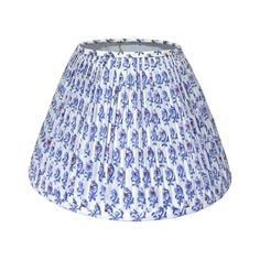 Inspired by Fabric Lampshades – Blue and White Home Pleated Lamp Shades, Small Lamp Shades, Table Lamp Shades, Floral Lampshade, Fabric Lampshade, Lampshades, Bohemian Lamp, Indian Block Print, Custom Shades