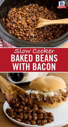 Looking for a new baked beans recipe? Load the slow cooker with pinto beans, bacon and all the fixings. Season with a variety of spices including Ground Mustard, Garlic Powder and Cinnamon. In four hours, come back to a crock full of irresistibly sweet baked beans. Serve as an easy slow cooker side at your backyard cookout or Fourth of July party.