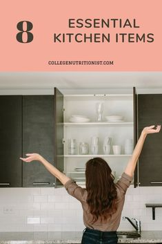 The College Nutritionist : Find the only items you need for your first kitchen! How To Stay Awake, How To Stay Healthy, Eye Opening Quotes, Healthy Morning Routine, Morning Routines, College Dorm Organization, The Life Coach School, 8 Hours Of Sleep, Oil Free Makeup