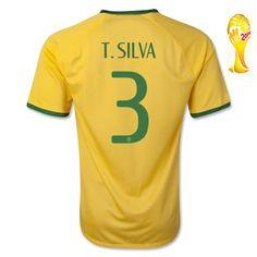 Boutique de Maillot de foot Brésil Coupe Du Monde 2014 NEYMAR JR Domicile personnalisable,maillot arbitre foot,www.lly525.com