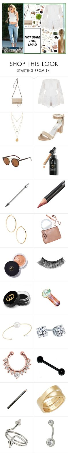 """""""4/25 ♡ You got that healing that I want. Just like they say it in the song, until the dawn, let's Marvin Gaye and get it on."""" by xomissvolker ❤ liked on Polyvore featuring Chloé, Stuart Weitzman, Bobbi Brown Cosmetics, GUESS by Marciano, Tweezerman, Chanel, eylure, Gucci, mizuki and ULTA"""