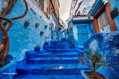 Chefchaouene by Yana Stancheva, via Flickr