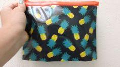 H pineapple make up bag