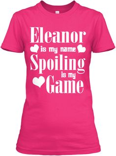 Eleanor Is My Name Heliconia T-Shirt Front