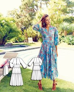 Gypsy Dress 07/2015 #111 http://www.burdastyle.com/pattern_store/patterns/gypsy-dress-072015?utm_source=burdastyle.com&utm_medium=referral&utm_campaign=bs-tta-bl-150629-SummerofLove111