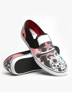 mouse emerica | Emerica x Mouse Provost Cruiser Slip UK Exclusive Skate Shoe - Gun ...