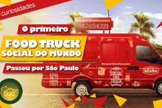 Social Food Truck, o marketing dos gigantes - http://chefsdecozinha.com.br/super/noticias-de-gastronomia/food-truck-noticias/social-food-truck-o-marketing-dos-gigantes/ - #FoodTruck, #Seara, #SocialFoodTruck, #Superchefs
