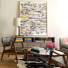 What's old is new again. Incorporate retro furnishings, nostalgic color schemes, and classic silhouettes into your home for divine midcentury modern design./
