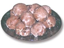 """Sicilian chocolate cookies—with cinnamon and spices. So deliciously good the way my grandma and mom make them. I don't use the frosting because they are just that good all by themselves. My favorite. Some call them Sicilian """"meatball"""" cookies because of their shape."""