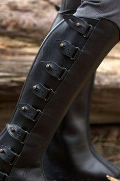 Half Chaps (Polainas): Black By The Spanish Boot Company