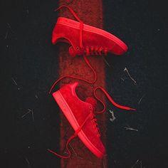 @adidasoriginals #StanSmith #PowerRed ( @rockcitykicks) Cop ? Pass ? #kicksonfire #kicks #sneakerfreaker #reebok