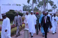 Photos: President Buhari observes Juma'at Prayer at State House, Abuja