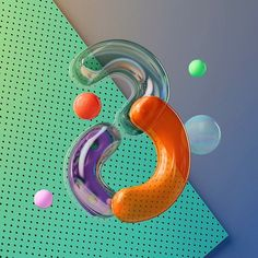 36 Days of Type on Behance Game Ui Design, 3d Design, Design Ideas, Abstract Example, Geometric 3d, 3d Typography, Lettering, 36 Days Of Type, 3d Artwork